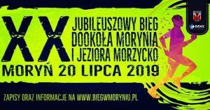BZ/ XX Jubileuszowy Bieg dookoła Morynia i jeziora Morzycko