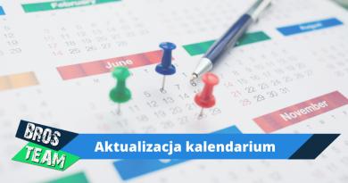 Kalendarium – aktualizacja 16-09-2020